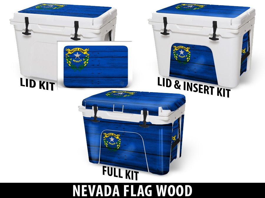 USATuff Cooler Accessories Ice Chest Graphic Sticker Decal Kits - Nevada