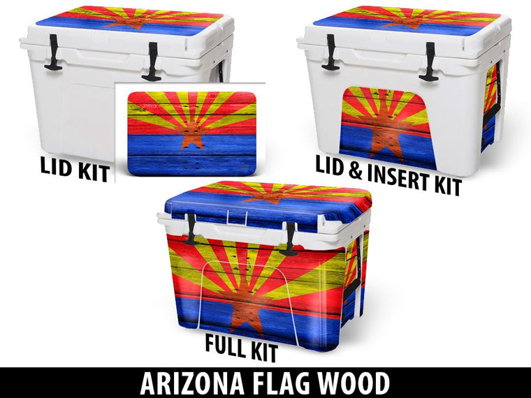 USATuff Cooler Accessories Ice Chest Graphic Sticker Decal Kits - Arizona
