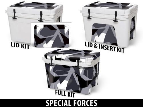 USATuff Cooler Accessories Ice Chest Graphic Sticker Decal Kits - Special Forces