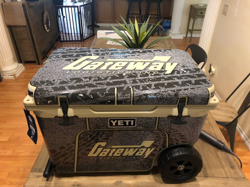 CUSTOM DESIGNED COOLER WRAP