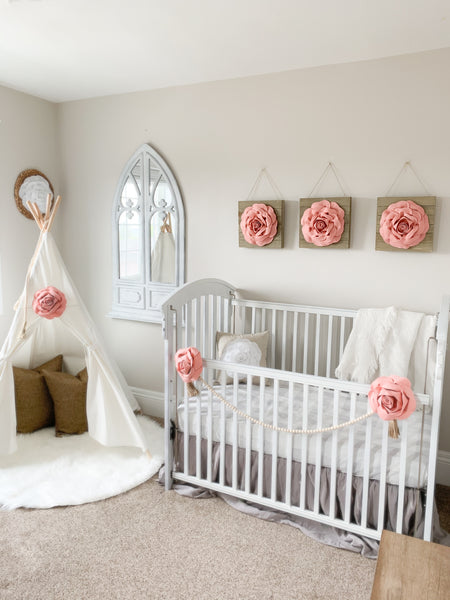 How to make a One-of-a-Kind nursery for your One-of-a-Kind Baby Girl.