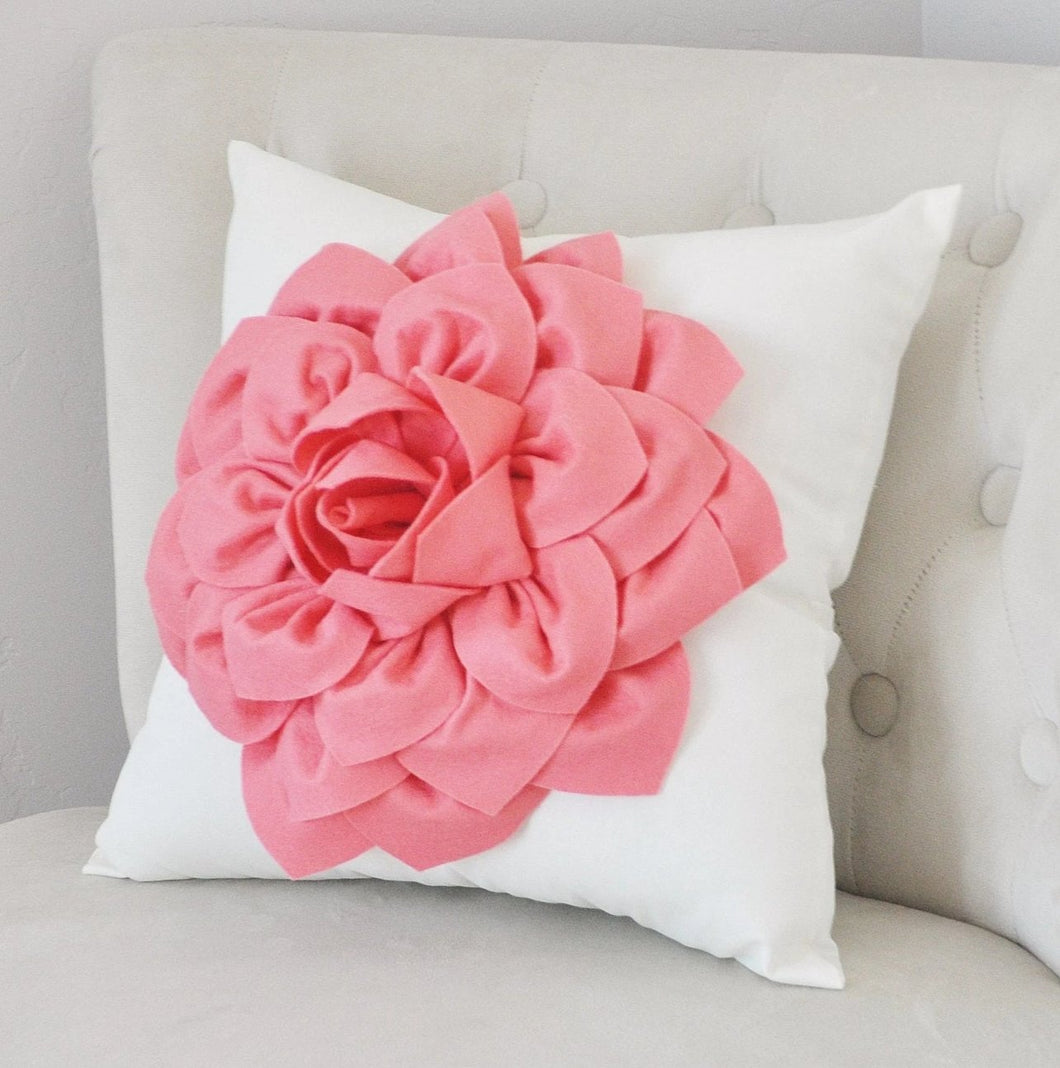 Decorative Flower Pillow - Daisy Manor