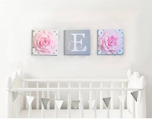 Nursery Name Wall Decoration - Daisy Manor