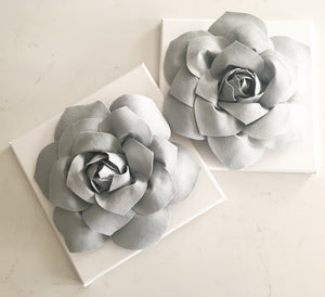Succulent Flower Canvases - Daisy Manor