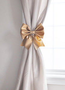 Gold Curtain Tie Backs Large Decorative Curtain Tie Backs - Daisy Manor