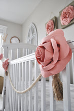 Load image into Gallery viewer, Blush Rose Baby Crib Accessories - Daisy Manor