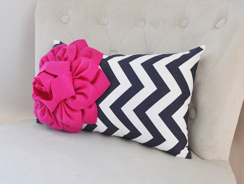 Chevron Lumbar Pillow - Daisy Manor
