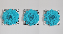 Load image into Gallery viewer, White with Black Damask Decor - Daisy Manor