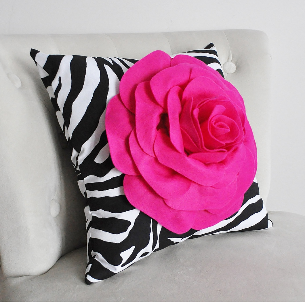 Decorative Pillow Zebra - Daisy Manor