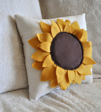 Load image into Gallery viewer, Sunflower Pillow - Daisy Manor