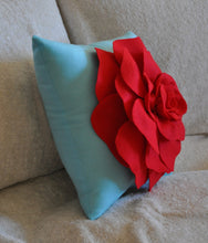 Load image into Gallery viewer, Decorative Pillow Red - Daisy Manor