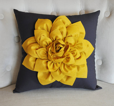 Mustard Decorative Pillow