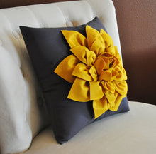 Load image into Gallery viewer, Mustard Decorative Pillow Cover - Daisy Manor