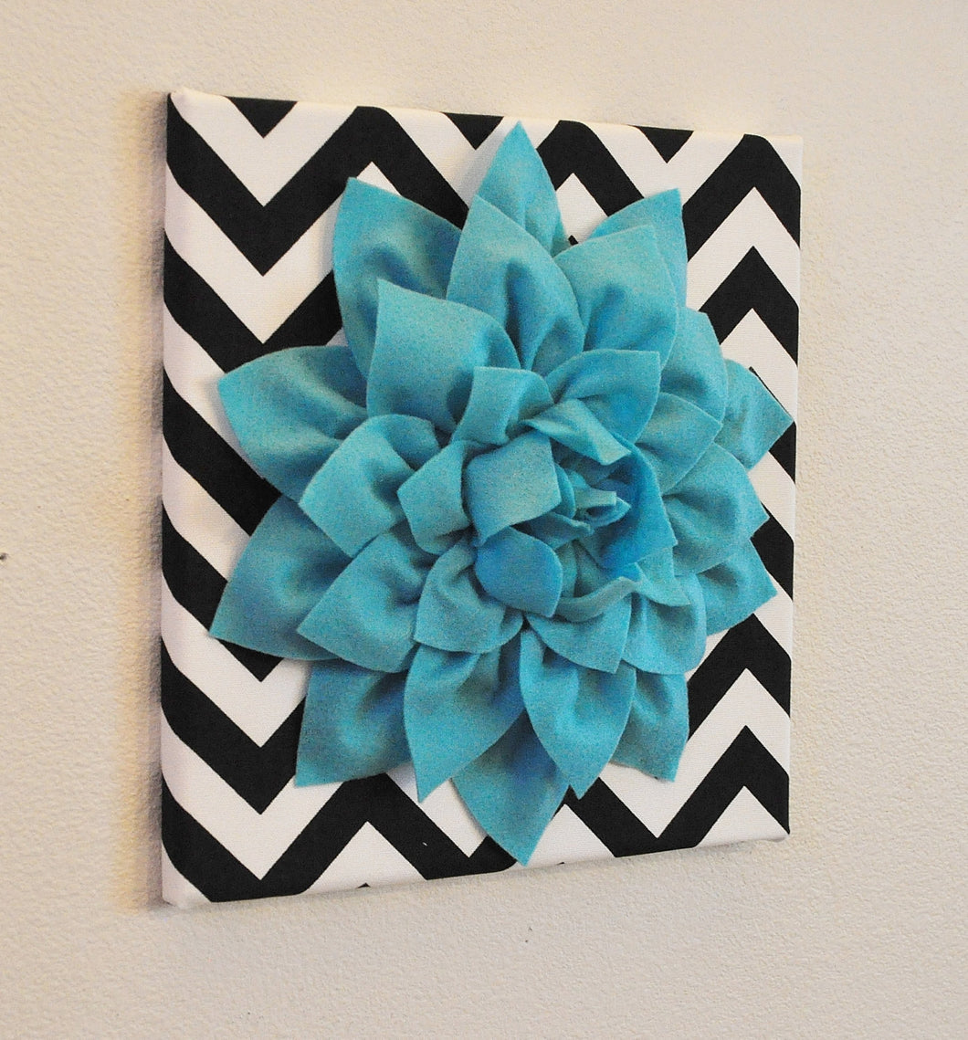 Turquoise Wall Flower - Daisy Manor