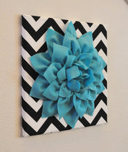 Load image into Gallery viewer, Turquoise Wall Flower - Daisy Manor