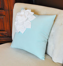 Load image into Gallery viewer, Aqua / White Corner Flower - Daisy Manor