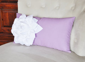 Lilac Lumbar Pillow - Daisy Manor