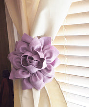 Load image into Gallery viewer, Lilac Curtain Tie back Set of Two - Daisy Manor