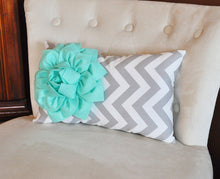 Load image into Gallery viewer, Mint Lumbar Pillow - Daisy Manor