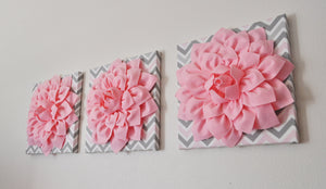 Pink Grey Wall Decor - Daisy Manor