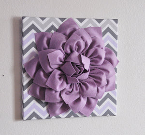 Lilac Gray Wall Flower - Daisy Manor