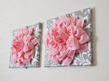 Load image into Gallery viewer, Gray Damask Wall Flower - Daisy Manor
