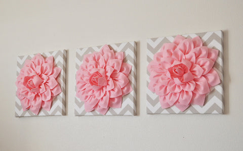 Lt. Pink taupe Wall Decor