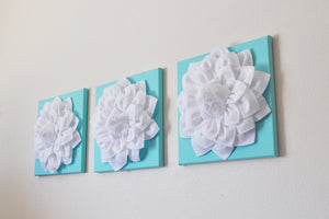 Set of Three Wall Decor 12 x 12 - Daisy Manor