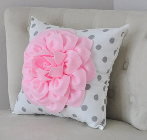 Light Pink Pillow - Daisy Manor
