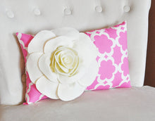 Load image into Gallery viewer, Lumbar Pillow and Wall Hanging Combo - Daisy Manor