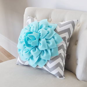 Teal Decorative Pillow - Daisy Manor