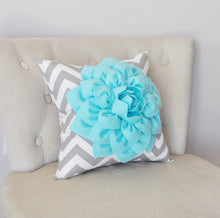 Load image into Gallery viewer, Teal Decorative Pillow - Daisy Manor