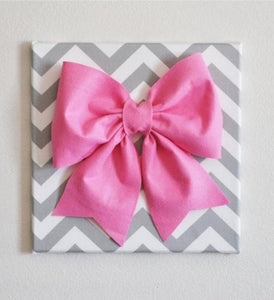 Large Bow Pink Room Decor - Daisy Manor