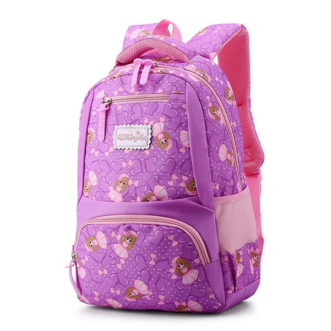 8f3b954d54fb 1-6 Grade Primary School Bags Light Kids Backpacks School Bags For Girls  High Quality