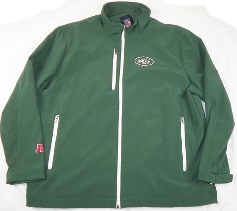 finest selection fe815 b18f8 New York Jets Jacket Men's NFL Overtime Softshell Football Coat Mid-weight
