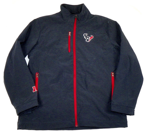 best loved 7ad66 b9900 Large Houston Texans Jacket Men's NFL Overtime Soft Shell Football Coat  G-III