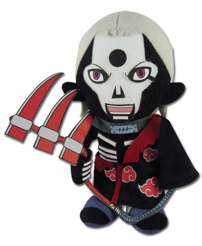 "1x Authentic Naruto Shippuden 10"" Grim Reaper Hidan GE-8973 Great Eastern Plush Great Eastern 1"
