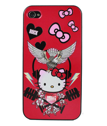 88d2bc765 NEW Sanrio Hello Kitty Hard Case with Etched Print for iphone 4/4S - Rock