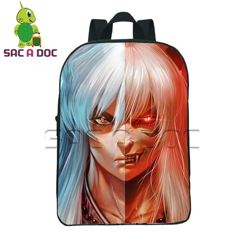 949711c34c 12 Inch Anime Inuyasha Split Toddler Backpack for Kids Boys Girls School  Bags Children Kindergarten Backpacks