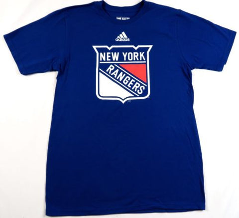 outlet store b8815 fdf77 New York Rangers Shirt Men's NHL Primary Logo Tee adidas Cotton T-Shirt