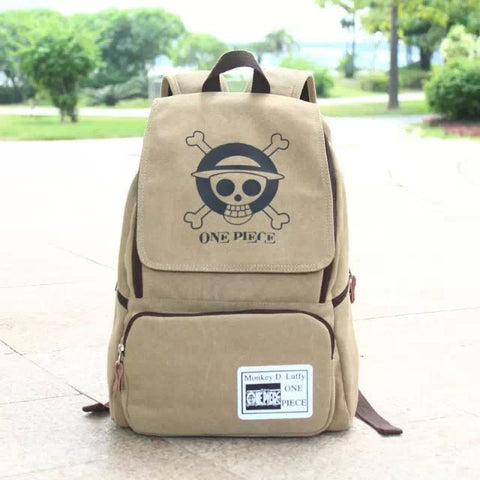 14 inch Laptop Backpack Japan Anime One Piece Backpack 2018 New Canvas Cartoon mochilas School Bags for Teenagers 18CIWEI Store 1
