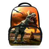 14Inch Hot Sale Kids Schoolbag Cool Animal Print Dinosaur Backpack For Boys Tyrannosaurus Mochila Children Girls Teenagers Bag Horizon Bag Town Store 1