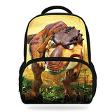 14Inch Hot Sale Kids Schoolbag Cool Animal Print Dinosaur Backpack For Boys Tyrannosaurus Mochila Children Girls Teenagers Bag Horizon Bag Town Store 2