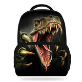 14Inch Hot Sale Kids Schoolbag Cool Animal Print Dinosaur Backpack For Boys Tyrannosaurus Mochila Children Girls Teenagers Bag Horizon Bag Town Store 5