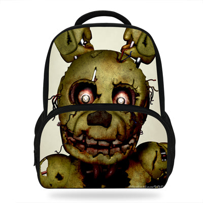 14inch Five Nights at Freddy's Backpack Kids Cartoon Bags For Girls Boys Children Bookbags Colourful School Bag Store 1