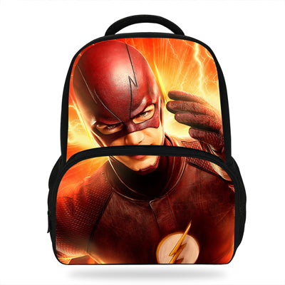11939caadbd6 14inch Mochila The Flash Man Backpack Girls School Bag Avengers Characters Kids  School Bags For Teenager