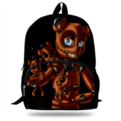 16-Inch Five Nights at Freddy's Boys Backpack For Teenagers Cool Men Print Girls Bakcpack Children School Bag PISTACHIO Bag Store 1