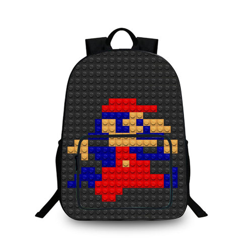 626a8f3bc8 16inch LEGO Ninjago 3D Bags For School Boys Batman Backpack Cool Kids  School Bags For Teenagers
