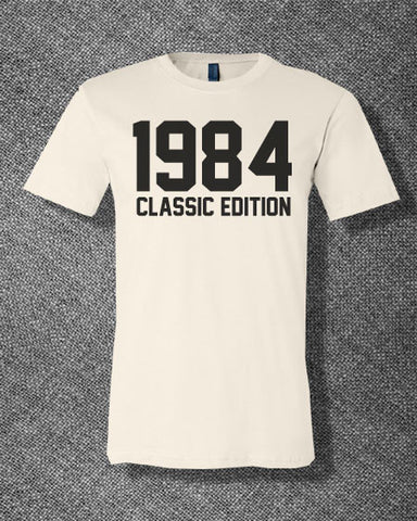 Trendy Pop Culture Legend since Classic Limited Edition 1984 25 26 27 28 29 30  years old birthday  Tee T-Shirt Ladies Youth Adult - Animetee - 1
