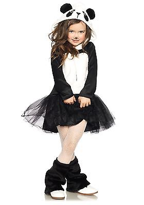Girls Pretty Panda Costume Leg Avenue